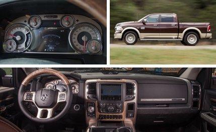 Dodge RAM 1500 Longhorn Interior