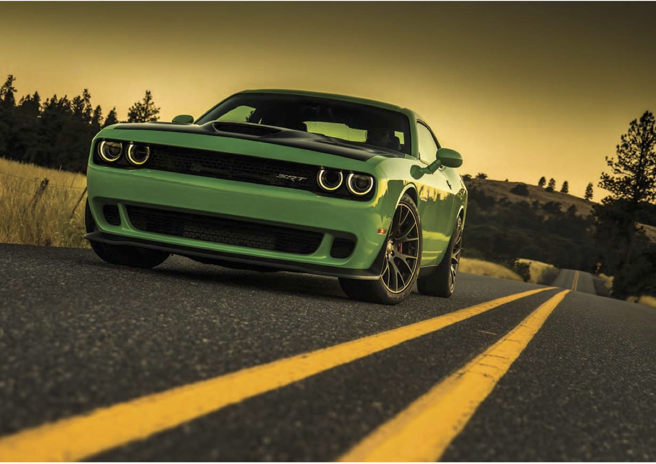 dodge_challenger_lappi_performance_front_green