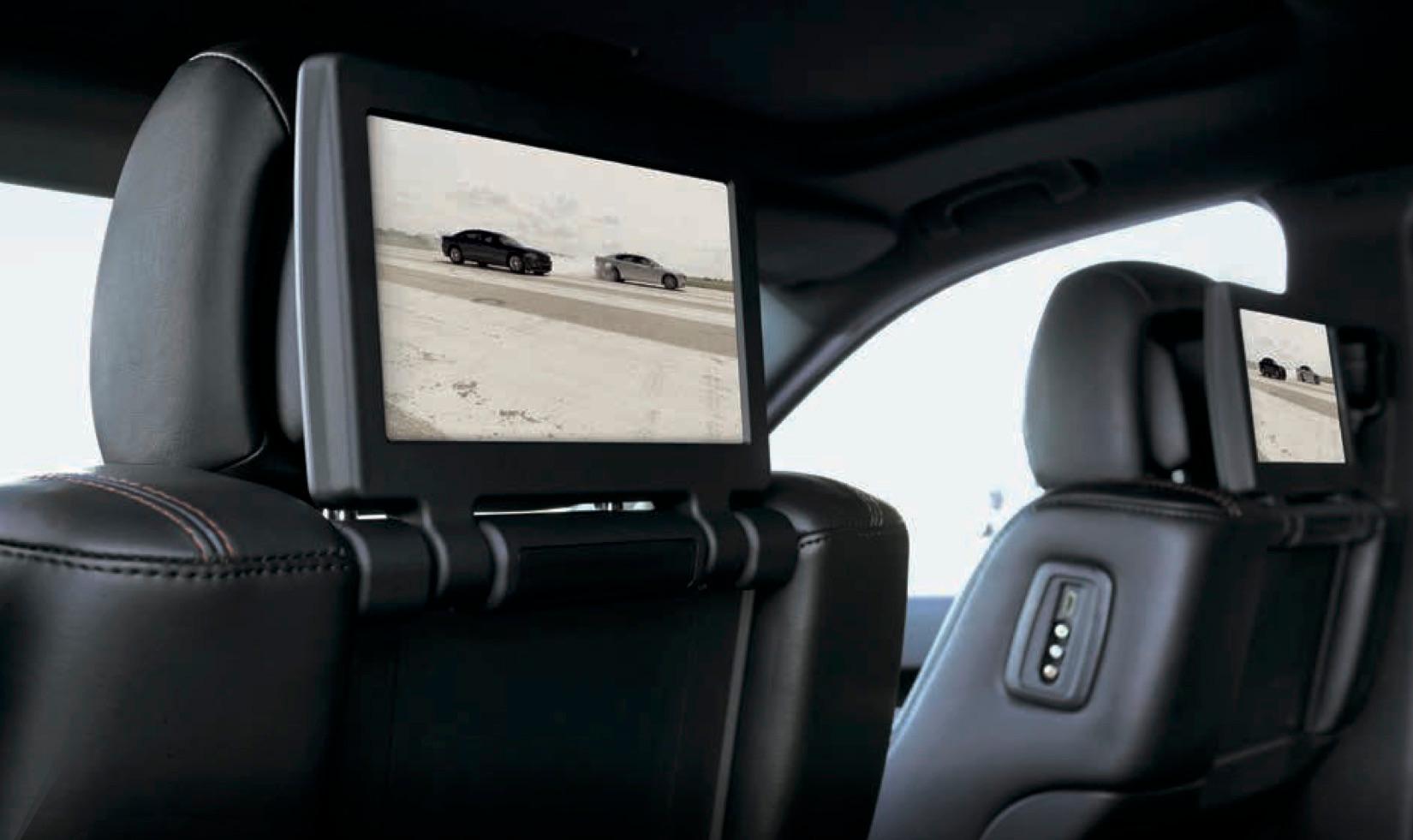 Lappi Performance Dodge Durango Seats with Monitor