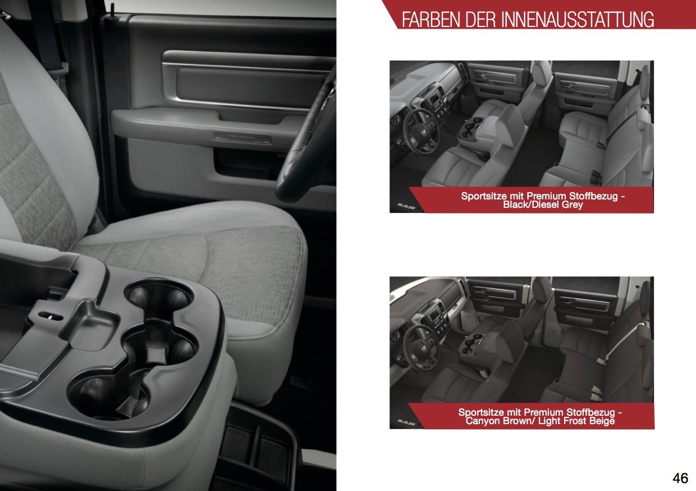 RAM 1500 SLT Innenausstattung Lappi Perfromance