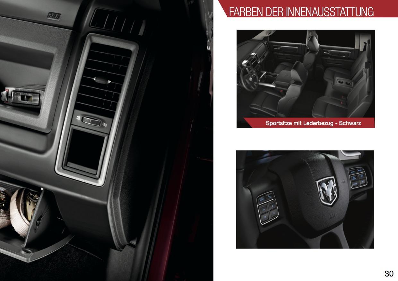 RAM 1500 Sport Innenausstattung Lappi Performance