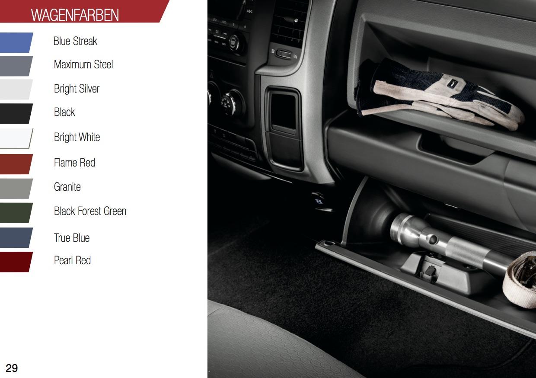 RAM 1500 Sport Wagenfarben Lappi Performance
