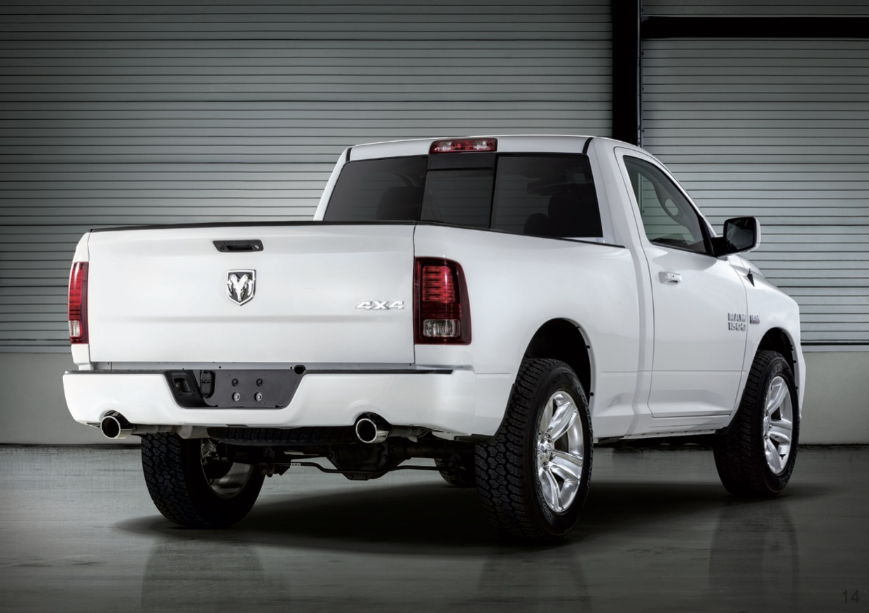 RAM 1500 Sport White Back Lappi Performance