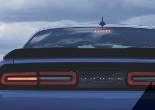 Challenger 2018 Dodge in Blau