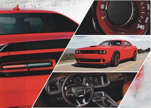 2018 Challenger SRT in Rot