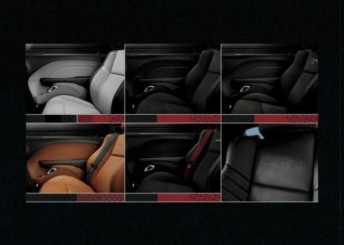 2018 Challenger Sitze konfigurieren