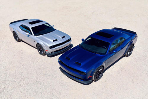 2019 Dodge Challenger SRT Hellcat Redeye Widebody and SRT Hellca