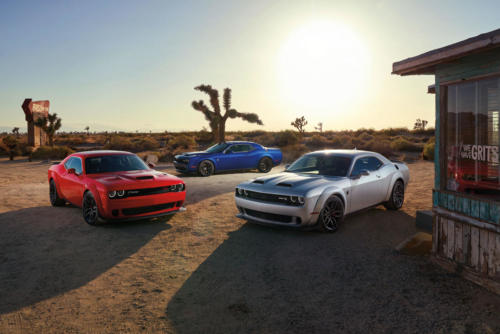 2019 Dodge Lineup: Challenger R/T Scat Pack Widebody, Charger SR