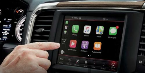 Dodge Ram 2018 touch