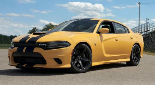 Dodge SRT Hellcat Rennstreifen