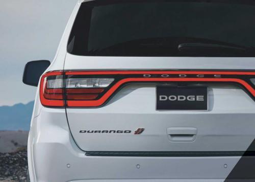 Dodge Durango 2018 Heck