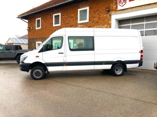 Lappi Custom Camper Mercedes Sprinter weiss