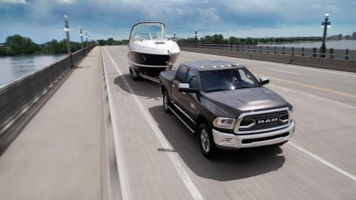 Ram 2500 Towing Boat