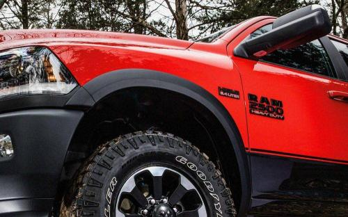 Ram 2500 Heavy Duty Side