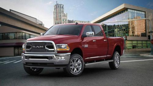 Ram 2500 Limited Delmonico Red Front Hero