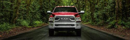 Ram 2500 Red Front View