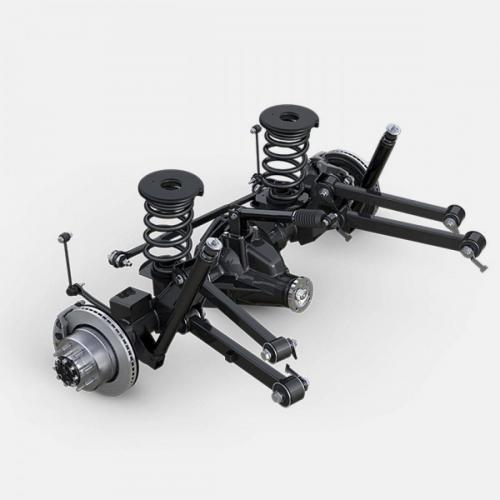 Ram 2500 SLT Rear Link Coil Suspension